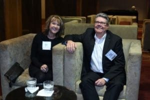 Karen Leebolt and Terry Leebolt attend Arcus Awards